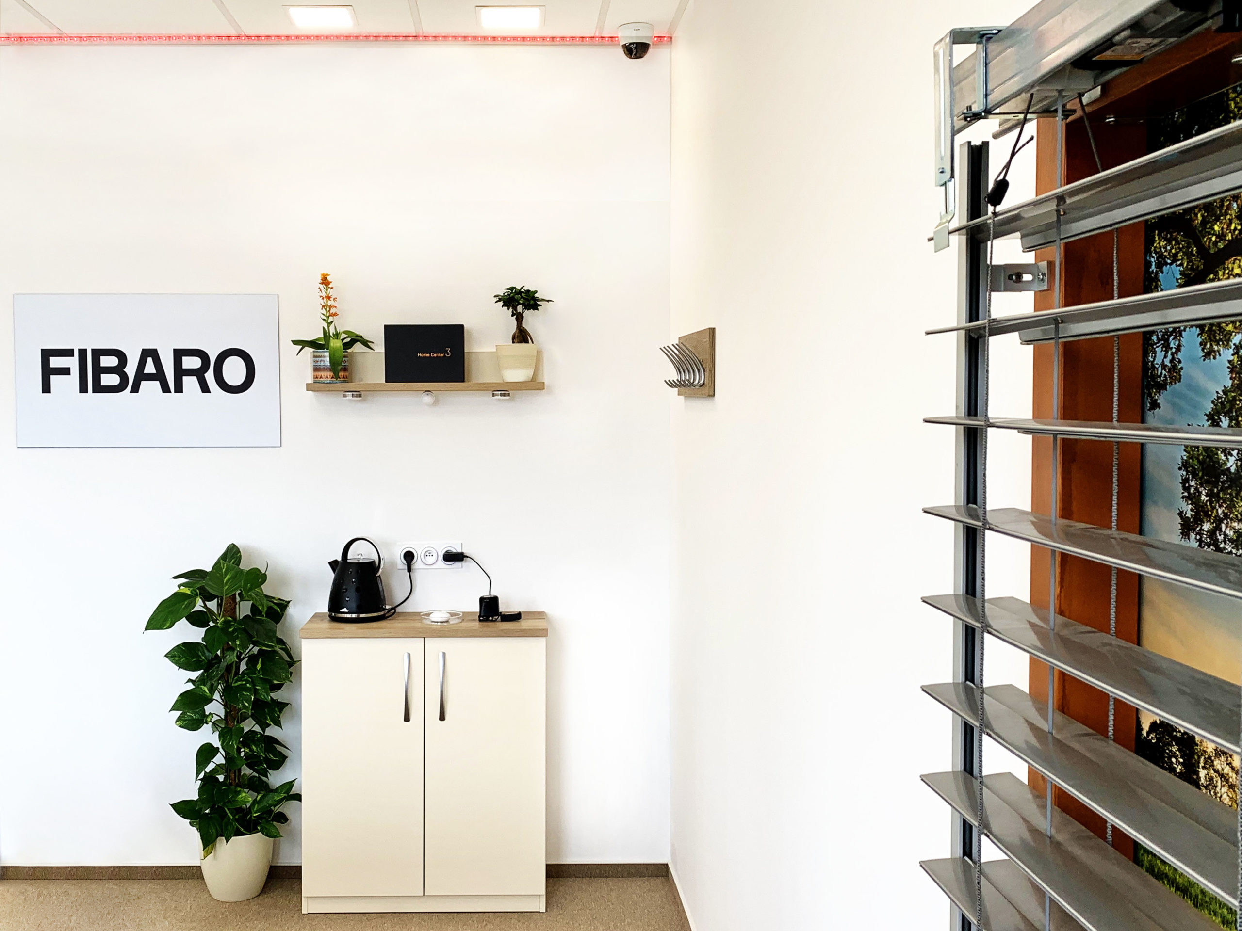 Showroom FIBARO Praha